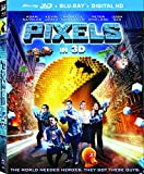 Pixels (3D) [Blu-ray] [Import]