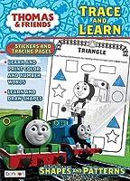 Thomas and Friendsトレースand Learn Rewardステッカー、カラーリングブック