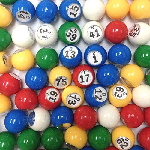 アラン・パーソンズ・プロジェクトコレクションマルチカラープラスチックBingo Ballセット Tapp Collections