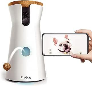 Furbo ドッグカメラ [ファーボ] - AI搭載 wifi ペットカメラ 犬 留守番 飛び出すおやつ 見守り 双方向会話 スマホ iPhone & Android 対応 アカウント共有 写真 動画