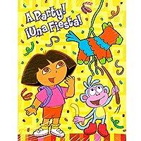 Dora the Explorer ' Fiesta ' Invitations and Thank You Notes w / Env ( 8ct EA。)