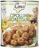 (セット販売) イタリア産 タマネギのバルサミコ酢漬け(チポリーネ)(800g) ×50個