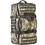 Phoenix Ikki 60L 大容量 3WAY 選べる4色 迷彩 多ポケット 撥水耐震 海外旅行 長期旅行 登山に最適 多機能 アルパインパック ミリタリー リュックサック アウトドア バックパック 大型旅行バッグ