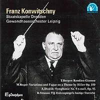 コンヴィチュニー/ドヴォルザーク:交響曲 第9番「新世界より」,R.シュトラウス:ティル・オイレンシュピーゲルの愉快ないたずら 他
