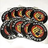 阪神タイガース ロゴ 10枚 インテリア マウスパッド 阪神 タイガース グッズ マウスパット タイガースグッズ マーク トレードマーク