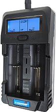 18650 デジタル 充電器 電池容量測定機能付き Li-ion/Ni-MH/Ni-CDに対応 トラストファイヤー(Trustfire) 社製
