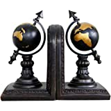 Globe Bookends Resin Craft Ornaments Home Study Room Decorations
