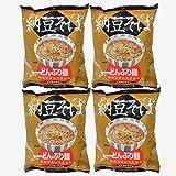 トーエー食品 どんぶり麺・納豆そば 81.5g×4袋