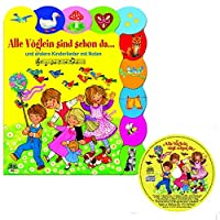 18 beliebte Kinderlieder - Pappebuch + CD