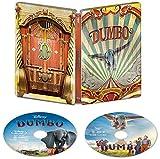 ダンボ MovieNEX スチールブック仕様 [ブルーレイ+DVD+デジタルコピー+MovieNEXワールド] [Blu-ray] ウォルト・ディズニー・ジャパン株式会社