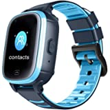 Kids Smart Watch, SG 4G Smartwatch for Kids, Waterproof, Kids Monitoring with GPS Tracker Two-Way Voice & Video Chat SOS Alar