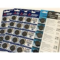 三菱 20個 TUO® 10個 高性能 CR2032 ボタン電池 3v 2032 リチウムコイン電池合計30個