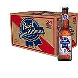Pabst Blue Ribbon 瓶 [ ラガータイプ アメリカ 瓶 355ml×24本 ]