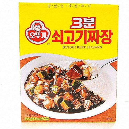 ottugi 3分料理 牛肉チャジャン レトルト食品 200g x5 [並行輸入品]