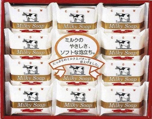 牛乳石鹸 ゴールド ソープセット AG-15M 【父の日 お中元 お歳暮 ギフトセット 石けん 固形...