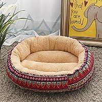 Rjj ファッションベージュ/マルチカラーペット用品犬小屋猫用トイレ砂小中型犬ペット犬用パッド50 * 50 * 14 Cm 便利な
