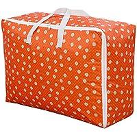 折り畳み式収納袋オーガナイザー - オレンジ
