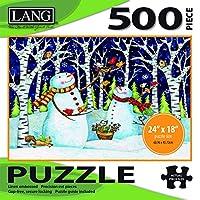 Lang Birch & Snowmen Puzzle (500 Piece)