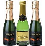 【ノンアルコールワイン 200ml 3本 セット】 ピエール・ゼロ×2+ヴァンドームクラシック×1 スパークリング ワイ…