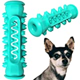 ZHEBU Dog Chew Toys Puppy Teething Toys for Small Medium Dog Dental Care Toothbrush for Small Breeds Indestructible Dog Teeth