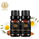 Therapeutic-Grade Aromatherapy Essential Oils Set, Cinnamon Chamomile Essential Oils Set, 100% Pure Aromatherapy Essential Oi