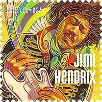 JIMI HENDRIX ジミヘンドリックス (WOODSTOCK 50周年記念) - MUSIC ICONS記念切手シート/ポストカード・レター 【公式/オフィシャル】