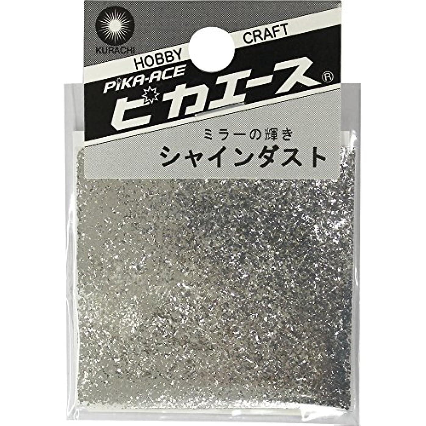 フィッティング温度高音ピカエース ネイル用パウダー ピカエース シャインダスト L #480 ミラーシルバー 0.5g アート材