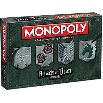 MONOPOLY: Attack アタック on Titan タイタン Board Game ゲーム [並行輸入品]