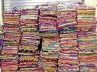 インドの部族の10ピースミックスロットKanthaキルトヴィンテージコットンベッドカバーThrow古いサリーAssortedパッチKanthaキルトベッドカバーWhole SaleブランケットMy Crafts