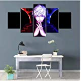 Jujutsu Kaisen Anime Poster Oil Painting Satoru Gojo Wallpaper Canvas Art Paints Wall Stickers Living Room Decor Murals Gifts