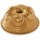 Nordic Ware 87477 Chiffon Bundt Pan, One Size, Gold