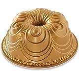 Nordic Ware 87477 Chiffon Bundt Pan, One Size, Gold