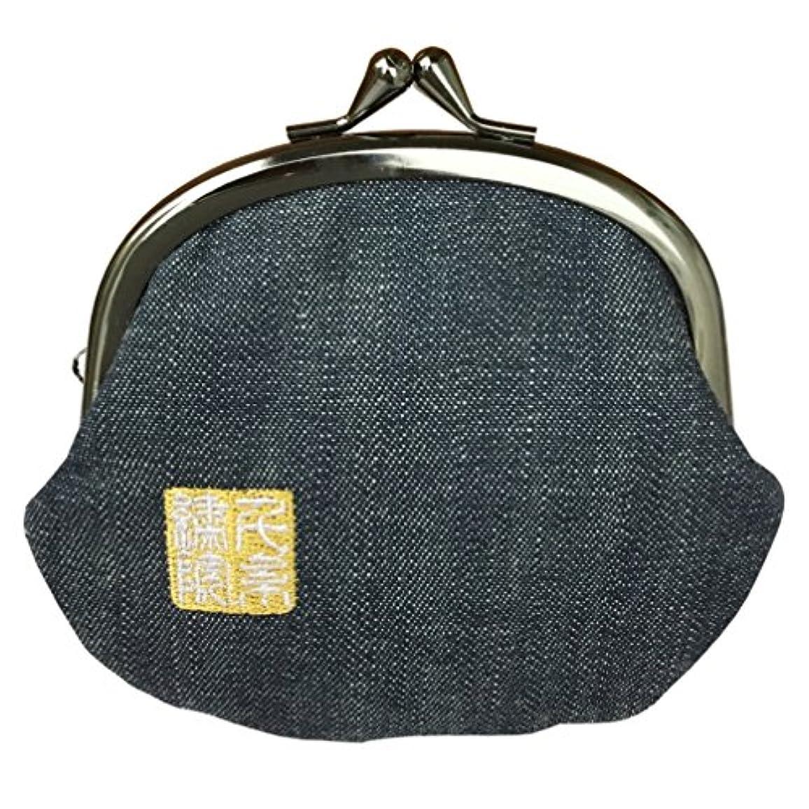シーズン傾く探検千糸繍院 西陣織 金襴 がま口 3.5寸丸型財布/小銭入れ(裏地付き)