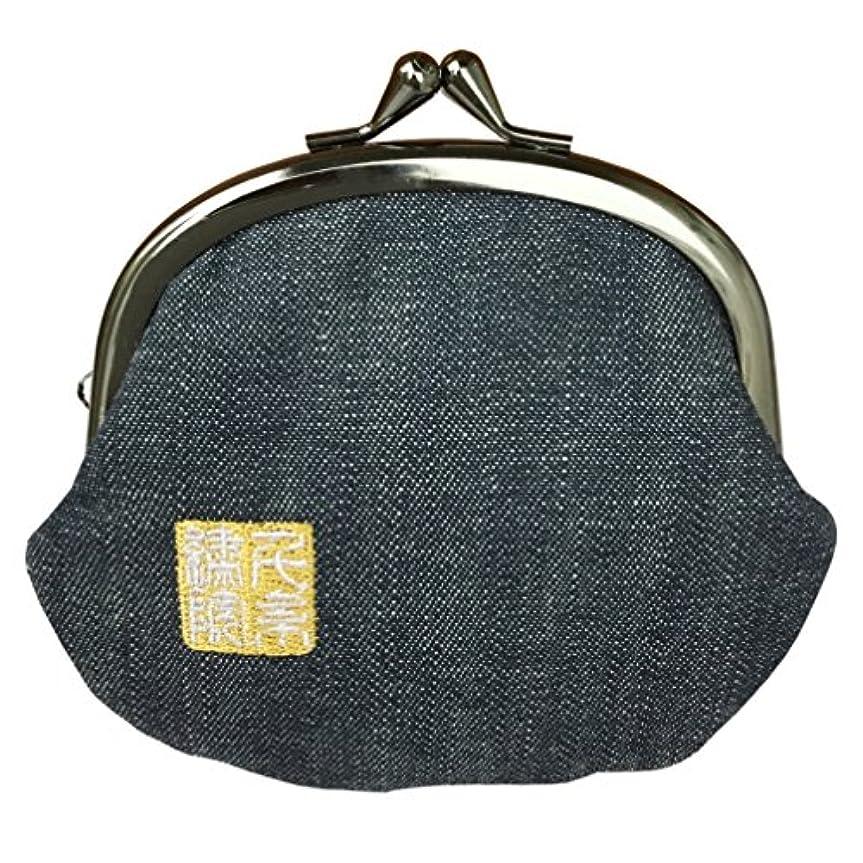 ギャラントリー許容できる分数千糸繍院 西陣織 金襴 がま口 3.5寸丸型財布/小銭入れ(裏地付き)