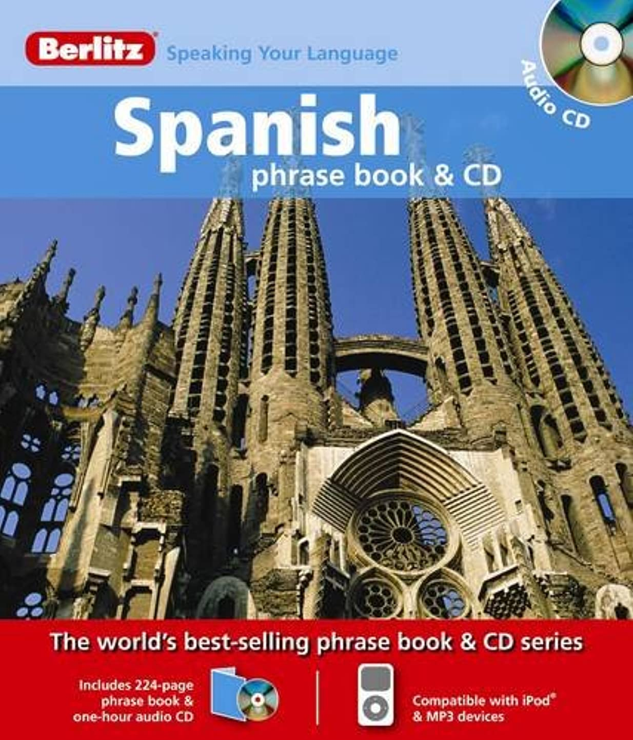 口述コントラスト非難Berlitz: Spanish Phrase Book & CD (Berlitz Phrase Book & CD)