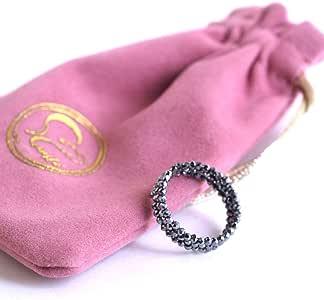 [Amazon限定ブランド] Beautéller テラヘルツ リング 指輪 フリーサイズ スピネルカット 2mm 【形状記憶 リング】