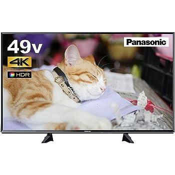パナソニック 49V型 液晶 テレビ VIERA TH-49EX600 4K USB HDD録畫対応  2017年モデル