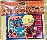サンジ 麦わらストア 限定 板チョコ缶バッジ Ver.2 ワンピース ONE PIECE
