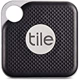 Tile Pro 新型タイル 電池交換が可能になりました!耐久性や耐水性に優れ対応範囲は90mに。iPhone/Android Bluetooth スマートスピーカー対応。 鍵、財布、貴重品等の紛失防止 - アクティベート説明書付属 30日間保証(簡易包装版) [並行輸入品] (ブラック 1個)