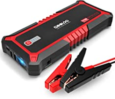 GOOLOO Upgraded 2000A Peak SuperSafe Car Jump Starter with USB Quick Charge 3.0 (Up to 10L Gas or 7L Diesel Engine) 12V...