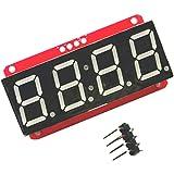 4桁 7セグメント 0.56インチ LEDディスプレイモジュール I2C Arduino用 HT16K33 高性能