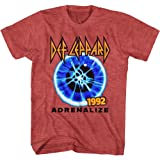 Def Leppard Band Adrenalize 1992 World Tour Adult Short Sleeve T-Shirt Graphic Tee