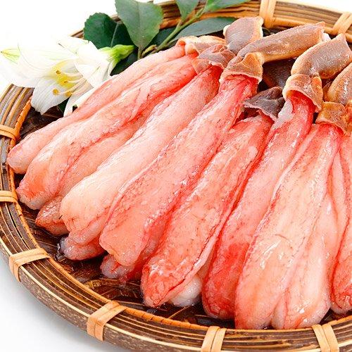 ズワイガニ ポーション 生 500g お刺身でも食べられる ...
