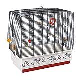 ファープラスト 鳥かご リコード 4 ブラック デコ REKORD 4 BLACK DECOR 鳥籠 ゲージ フルセット カナリア セキセイインコ 小型鳥用