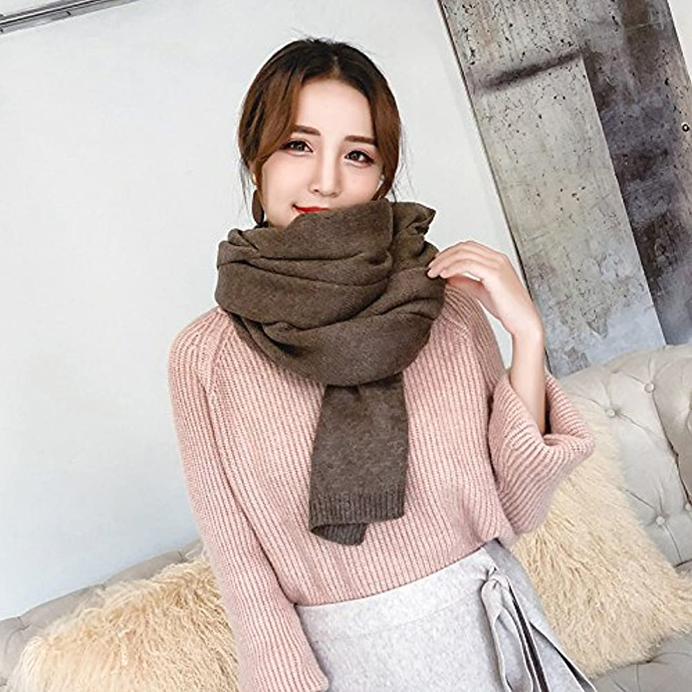 哲学的どういたしまして最初にmh-rita all-matchスカーフメス冬長い厚い暖かいウールニットスカーフ wj-68241