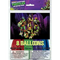 TMNT Latex Balloons [8 Per Pack]