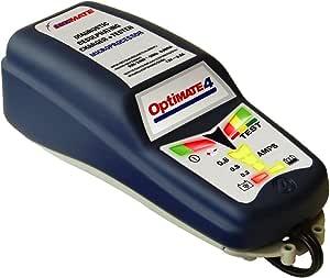 TECMATE [ オプティメート4 ] バイク用 全自動充電器 [ 車両ケーブル付 ] OPTIMATE-4【国内正規品】