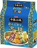 明星 中華三昧 赤坂璃宮 涼麺 3食パック 417g ×4個