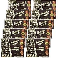 【ハワイお土産】ハワイアンホスト4ozマカダミアナッツチョコレート8粒【10箱】