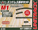 KATO Nゲージ M1 エンドレス 基本セット マスター1 20-850 鉄道模型 レールセット